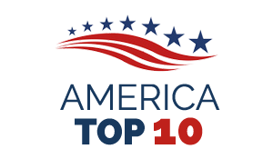 America Top 10 Badge awarded to LASIK Surgeon, Dr. Ashraf