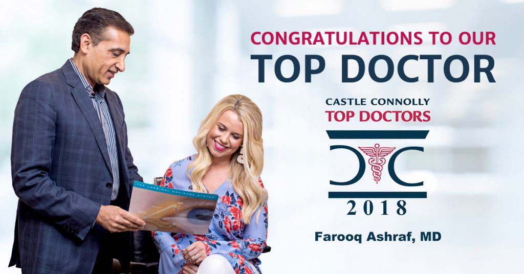 2018 Top Doctor Awardee Farooq Ashraf, MD, FACS in Atlanta